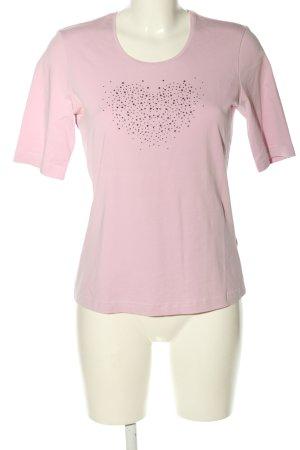Gerry Weber T-Shirt pink Motivdruck Casual-Look