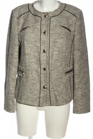 Gerry Weber Tweedblazer hellgrau Casual-Look