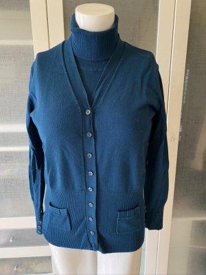 Gerry Weber Knitted Twin Set blue wool