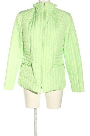 Gerry Weber Between-Seasons Jacket green quilting pattern casual look