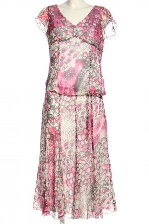 Gerry Weber Woven Twin Set pink-white abstract pattern elegant