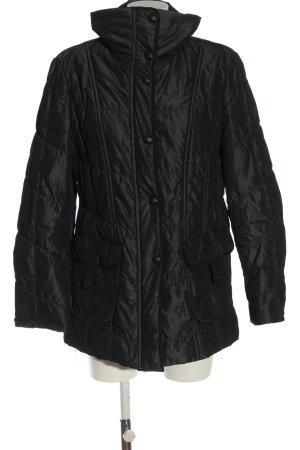 Gerry Weber Kurtka zimowa czarny Pikowany wzór W stylu casual