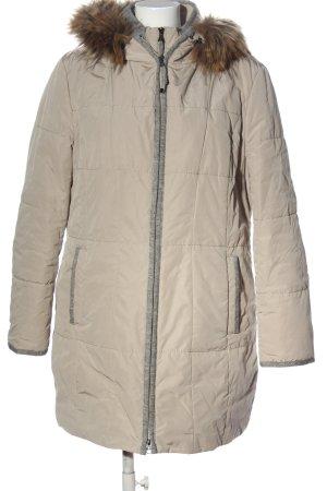Gerry Weber Kurtka zimowa w kolorze białej wełny-jasnoszary Melanżowy