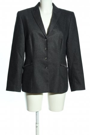 Gerry Weber Woll-Blazer hellgrau meliert Business-Look