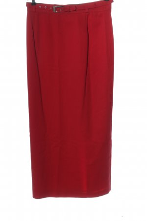 Gerry Weber Wollen rok rood casual uitstraling