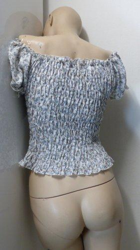 Carmen blouse veelkleurig Polyester