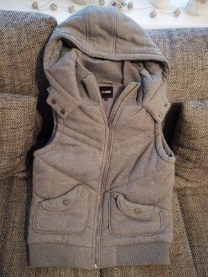 Hooded Vest grey polyester