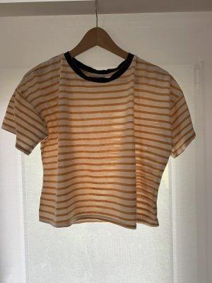 Gestreifes t-shirt