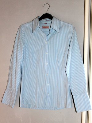 Brookshire Shirt Blouse azure-white