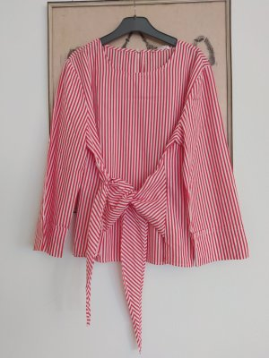 Opus Blouse topje wit-rood