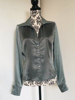 Georges Rech Splendor Blouse light grey-anthracite