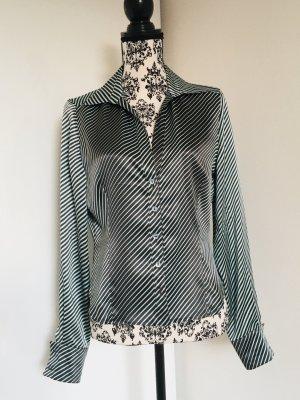 Georges Rech Blusa brillante grigio chiaro-antracite