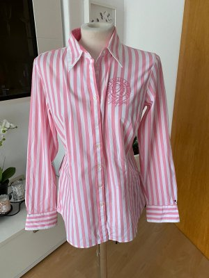 Tommy Hilfiger Blouse-chemisier blanc-rose