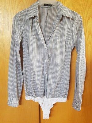 Gestreifte Bluse in Body von Sisley