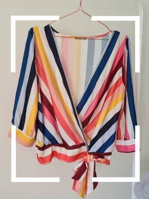 Orsay Blusa cruzada multicolor