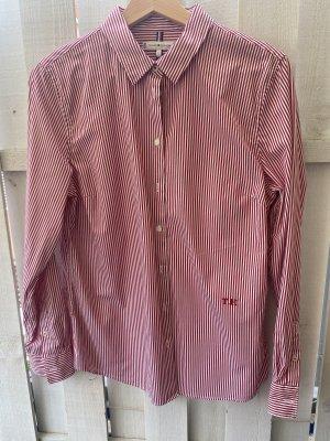 Tommy Hilfiger Blusa de manga larga carmín-blanco puro