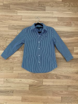 Ralph Lauren Koszulowa bluzka ciemnoniebieski-biały
