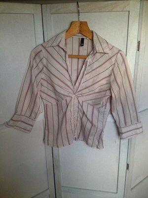 Gestreifte Business-Bluse in tollen Farben