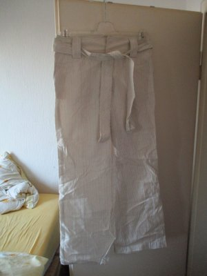 Zara Basic Culottes cream-light grey