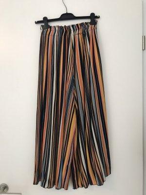 gestreifte Culottehose von Bershka; Größe S