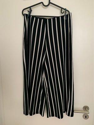 Zara Basic Culottes black-white