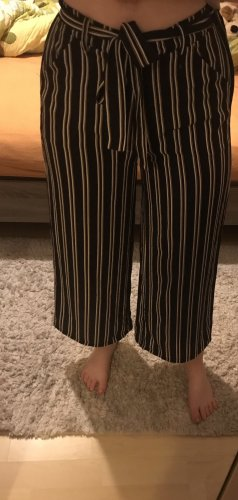 Gestreifte Culottes Hose