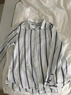 H&M L.O.G.G. Colletto camicia bianco-blu scuro