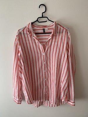 Gestreifte Hemd-Bluse