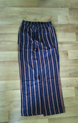armedangels Pantalone jersey marrone-blu