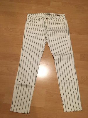 Zara Trafaluc Pantalon taille basse multicolore