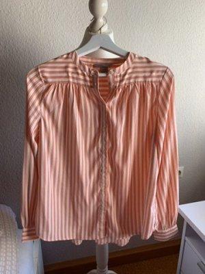 Gestreifte Langarm-Bluse H&M