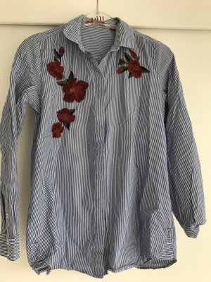 Gestreifte Longbluse s.Oliver