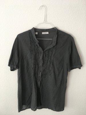 Zanetti Moda Ruche blouse veelkleurig Katoen