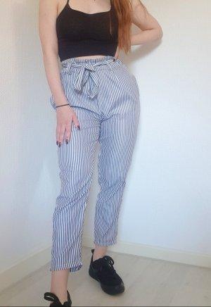 American Vintage Spodnie Marlena biały-czarny