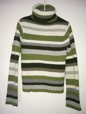 gestreifte rollkragen strickpullover von vero moda Sweater