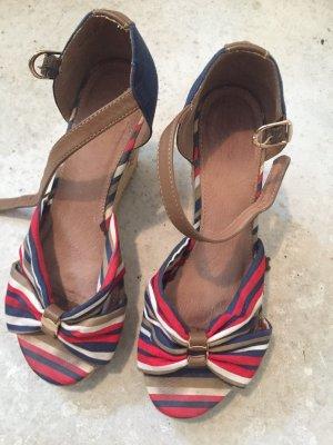 Cox Plateauzool sandalen veelkleurig