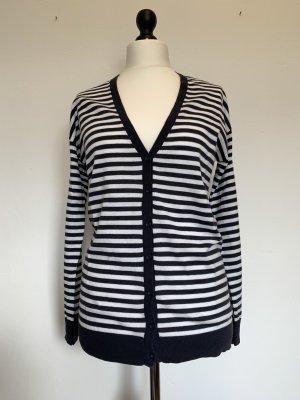 Esprit Knitted Cardigan white-dark blue