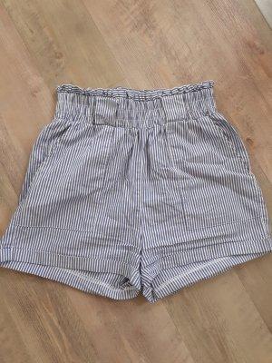Gestreifte Shorts high waist
