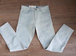 Boss Orange Jeans stretch blanc-bleu clair