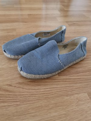 gestreifte slipper