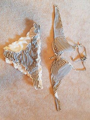 Gestreifter Bikini H&M