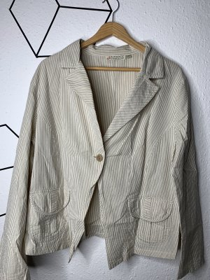 Authentic Tweed Blazer cream-grey brown