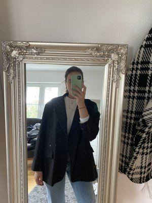 Zara Boyfriend blazer zwart-room