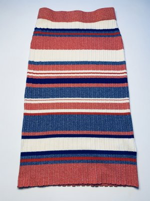 H&M Knitted Skirt multicolored wool