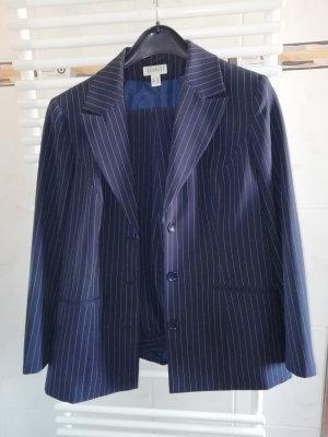 Charmant Tailleur-pantalon bleu-bleu foncé