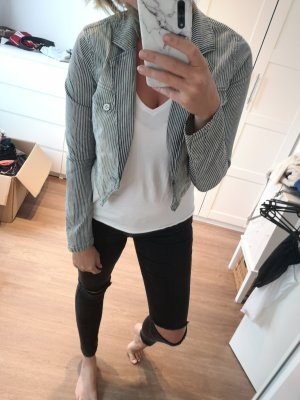 Only Blazer in jeans multicolore