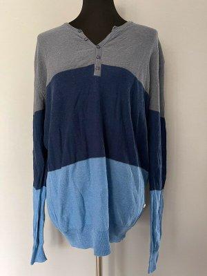 Gestreifter längerer Pullover von Softgrey, Gr. XL