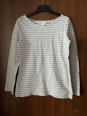 H&M Long Sweater grey-light pink