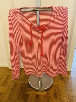 Manguun Knitted Sweater white-brick red