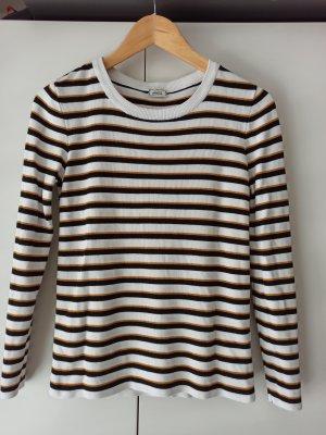 gestreifter Pullover Größe M